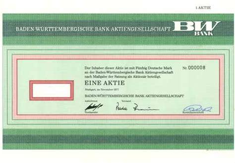baden w rttembergische bank heilbronn hwph ag historische wertpapiere baden w 252 rttembergische