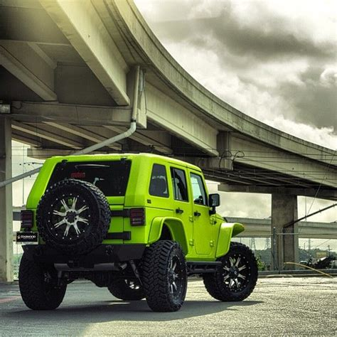 Neon Green Jeep 17 Best Images About Jeep On Wheels 2013 Jeep