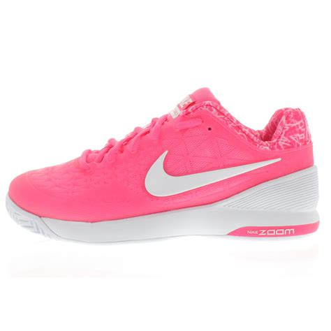 pink nike shoes nike s zoom cage 2 tennis shoes pink pow and classic