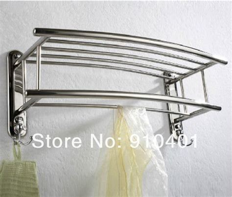 Chrome Bathroom Towel Shelf Best Home Design 2018 Chrome Bathroom Shelves For Towels