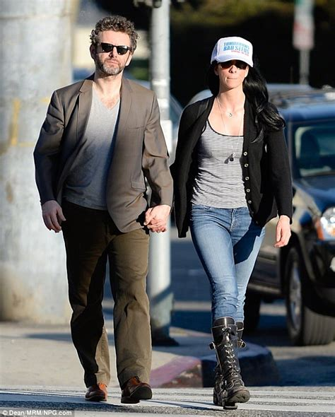 Engagement Rumors Surround Sheen Hudson by Michael Sheen And Silverman Hold In La Oh No