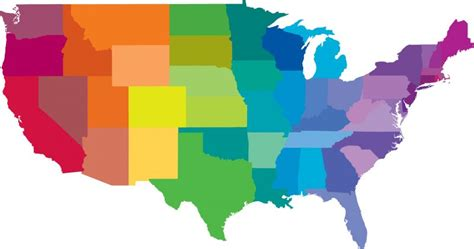 map of us states that can be colored can we guess where you live based on these 11 questions
