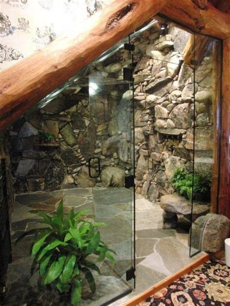 Remodeling A Bathroom Ideas by Waterfall Shower Tropical Bathroom Tampa By Inside