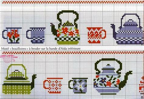 lavori a punto croce per cucina hobby lavori femminili ricamo uncinetto maglia
