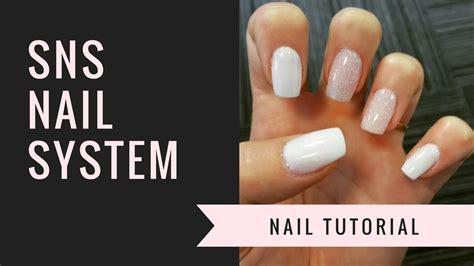 What Is Nail by Sns Nail Tutorial Nails Jiannajay