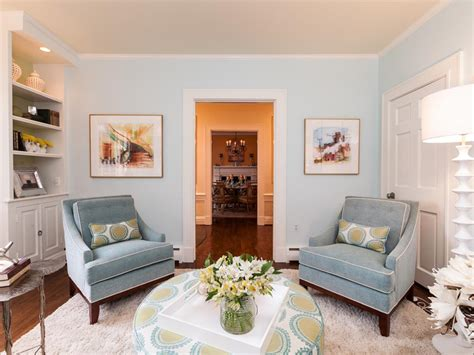 blue living room chair photo page hgtv