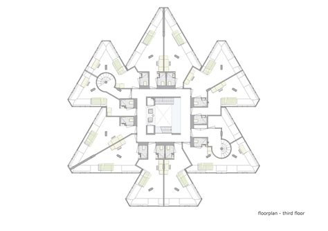 treehouse floor plan gallery of exodus cube personal architecture 19
