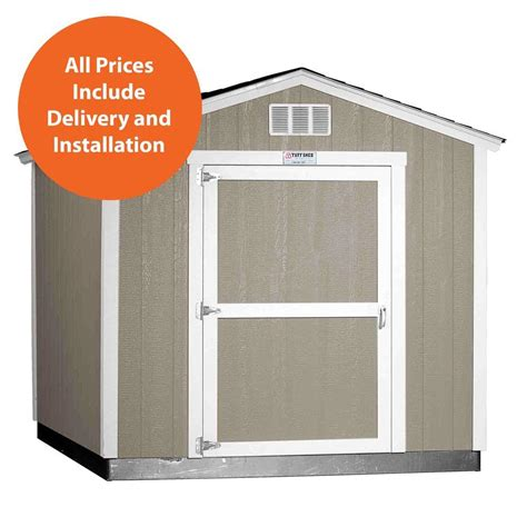 Tough Shed Home Depot by Tuff Shed Installed Tahoe 8 Ft X 10 Ft X 8 Ft 6 In