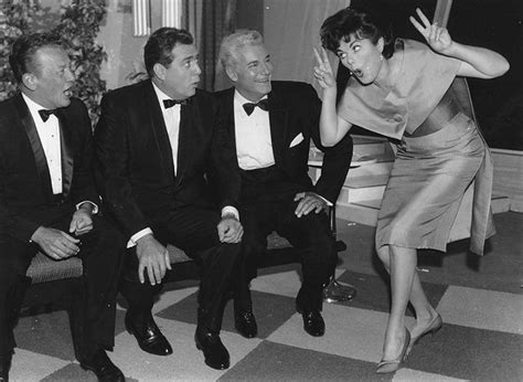 Or Cast Hale Barbara Hale Acting Out In Quot Stump The Quot With William Talman Raymond Burr And William