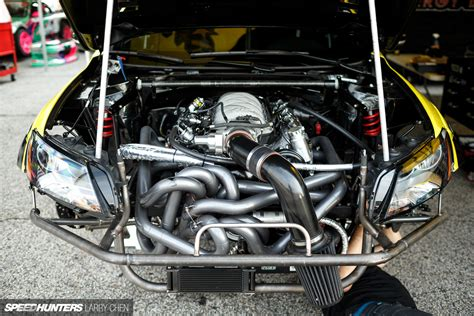 Black Master Bm Walaci horsepower wars the engine bays of formula drift 2015