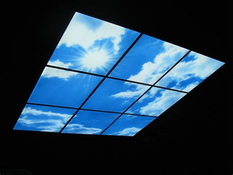 Architectural Ceiling Lights - 595x595 led sky panel ceiling architectural lighting