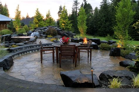 northwest backyard landscaping ideas stunning pacific northwest backyard and patio from 1 of 8