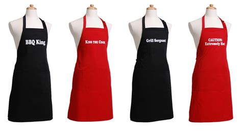 matching flirty aprons for dad and the whole family