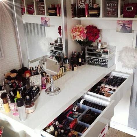 Meuble Rangement Maquillage by 52 Id 233 Es De Rangement Make Up En Photos Et Vid 233 Os