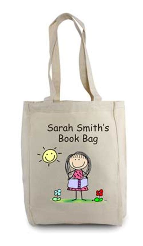 book reader tote bags customizable and personal tote