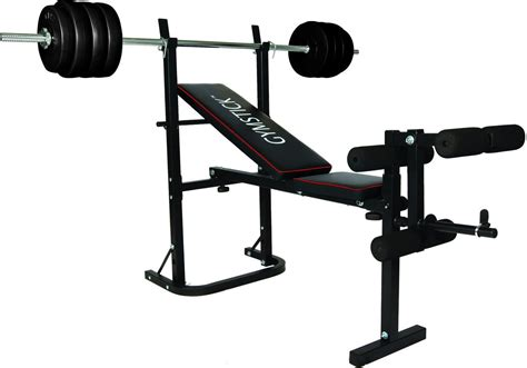 bench weights set weight bench with 40kg set gymstick com