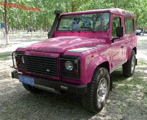 land rover pink land rover archives carnewschina com
