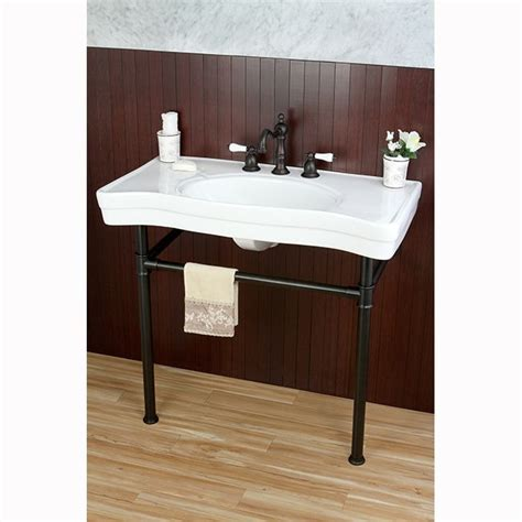 classic bathroom sink imperial vintage 36 inch oil rubbed bronze pedestal