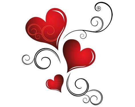 tattooed heart background vocals beautiful valentines day card vector paint tutorials