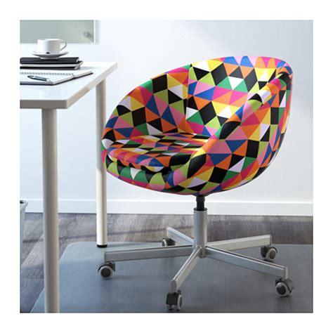 ikea swivel desk chair skruvsta swivel chair majviken multicolor ikea