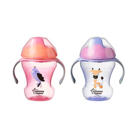 Tommee Tippee Spout tommee tippee soft spout trainer sippy cup 2 pack