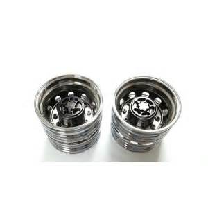 Semi Truck Chrome Wheels Semi Truck Alum Rear Wheels Chrome Mirror Pair