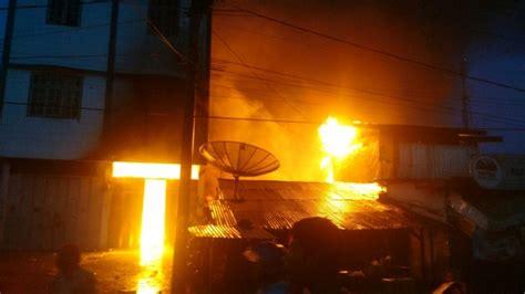 layout gudang spare part gudang sparepart terbakar toko grosir dan 4 rumah ikut