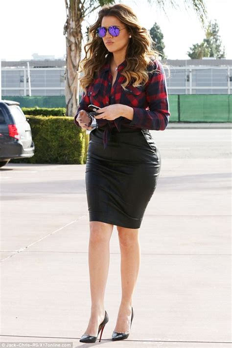 Khloe Kardashian's Booty Looks Extra Round in This Outfit   Shoes Post