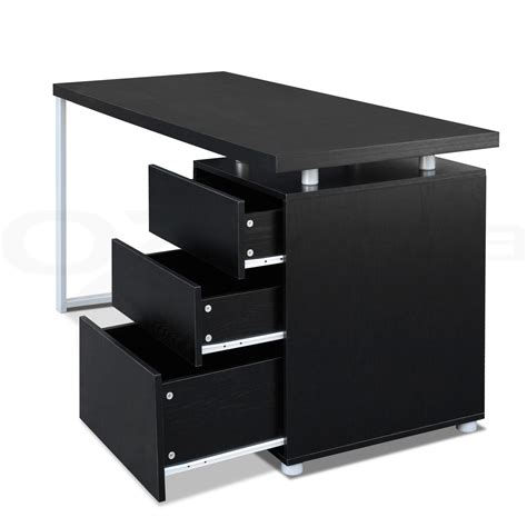 Desk Drawer Cabinet Office Computer Desk Table Home Metal Student Study 3