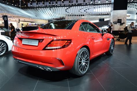 Amg Slc 43 by Mercedes Brings Slc Slc 43 Amg To Naias Carscoops