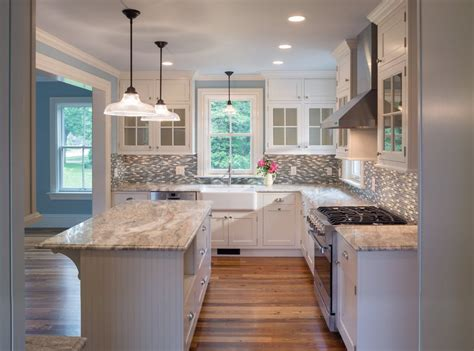 Country Kitchen Sink Ideas Tuscan Brown Granite Kitchen Farmhouse With Gas Range
