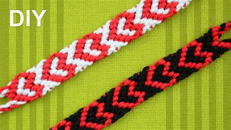 heart pattern friendship bracelet youtube heart friendship bracelet for valentines day diy