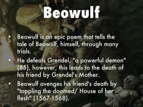 themes of beowulf poem theme project by tran deanna