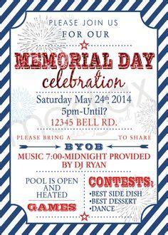 Richies Memorial Day Invitation by Memorial Day Invitation Memorial Day Bbq Memorial