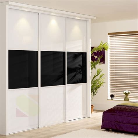 Wardrobe Panels by Wardrobe Sliding Doors Mixed Panel Sliding Doors