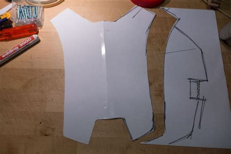 cardboard armour template cardboard armour template image collections template
