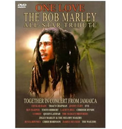 bob marley biography dvd bob marley one love the bob marley all star tribute dvd
