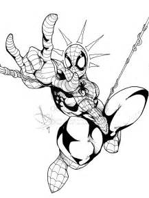 Venom Spider Man Coloring Pages sketch template