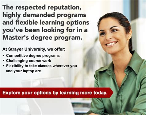 Strayer Mba In Information Technology by Strayer Masters Degree Programs