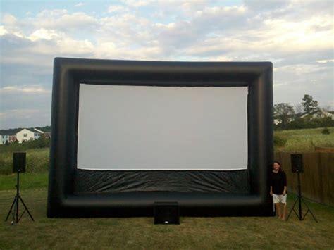 columbus inflatable outdoor movie screen rental autos post