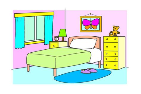 clip art bedroom kids bedroom clip art