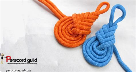 Knots Tutorial - how to tie the pipa knot paracord guild