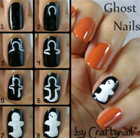 tutorial nail art halloween 20 easy step by step halloween nail art tutorials for