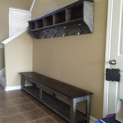 Storage Shelf With Hooks by 24 Entryway Storage Shelf With Hooks And Cubbies
