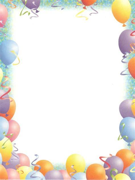 Pin Birthday Clip Art Party Graphics And Borders Free Birthday Border