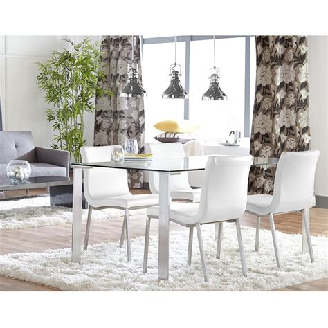 smith dining room furniture smith modern white dining chair eurway furniture