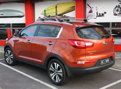 Kia Sportage Roof Rack Kia Sportage Roof Rack Yakima Whispbar Cross Bar