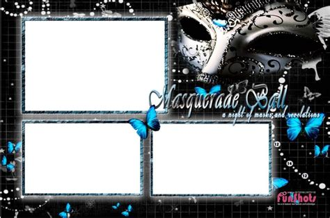 Funshots Masquerade Photobooth Template Funshots Pinterest Templates And Masquerades Photo Templates