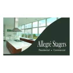 Home Staging Interior Design Allegr 233 Stagers Home Staging Interior Design Business Card