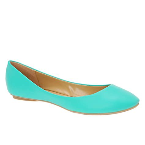 turquoise flat shoes turquoise flats back to school 2012